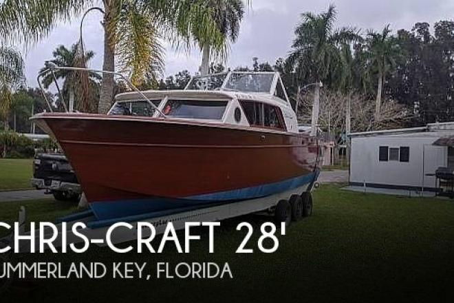 1960 Chris Craft Constellation - For Sale at Bradenton, FL 34209 - ID 188877