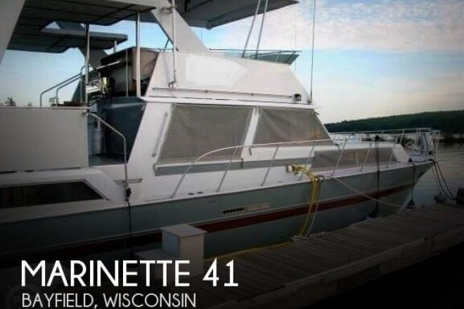 1988 Marinette 41 Flybridge - For Sale at Bayfield, WI 54814 - ID 166901