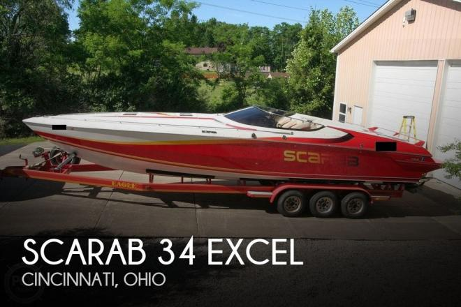1991 Scarab 34 Excel - For Sale at Cincinnati, OH 45248 - ID 187165