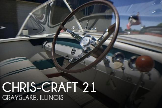 1965 Chris Craft 21 Super Sport - For Sale at Grayslake, IL 60030 - ID 142581