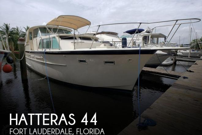 1968 Hatteras 44 Tri - cabin - For Sale at Fort Lauderdale, FL 33312 - ID 191126