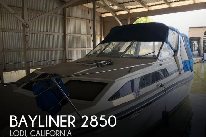 1986 Bayliner Contessa 2850 Sunbridge - For Sale at Lodi, CA 95242 - ID 187589