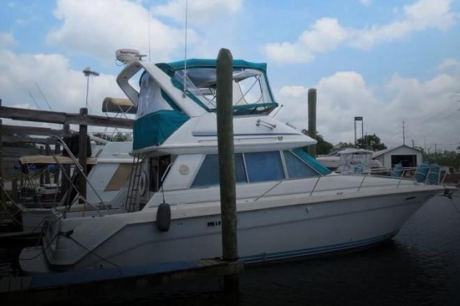 1992 Sea Ray 370 Sedan Bridge - For Sale at Lake Charles, LA 70601 - ID 140097