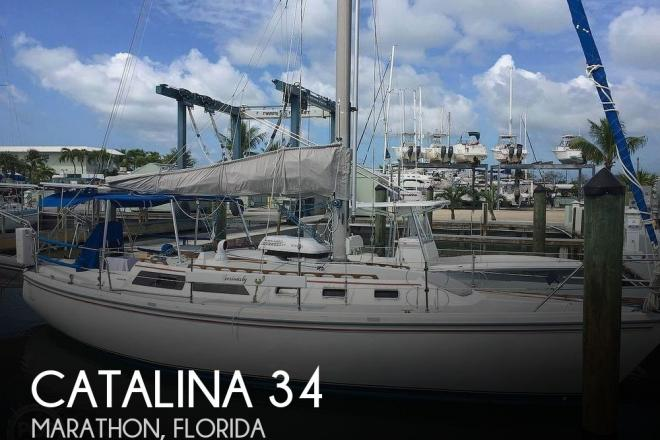 1988 Catalina 34 - For Sale at Marathon, FL 33050 - ID 192526