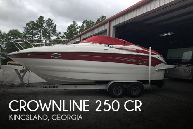 2007 Crownline 250 CR - For Sale at Kingsland, GA 31548 - ID 192228