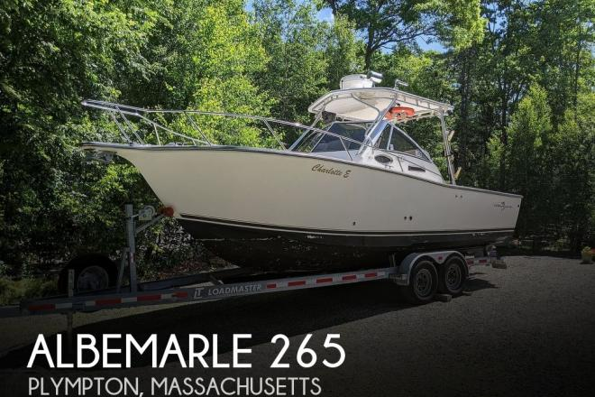 2002 Albemarle 265 Express Fisherman - For Sale at Plympton, MA 2367 - ID 192278