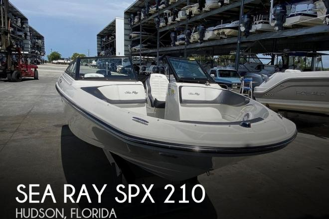 2018 Sea Ray SPX 210 - For Sale at Hudson, FL 34667 - ID 191602