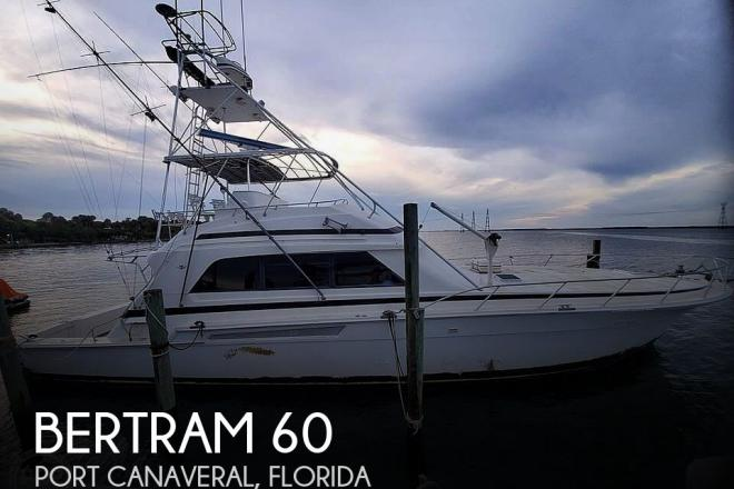 1991 Bertram 60 Convertible - For Sale at Titusville, FL 32780 - ID 184238