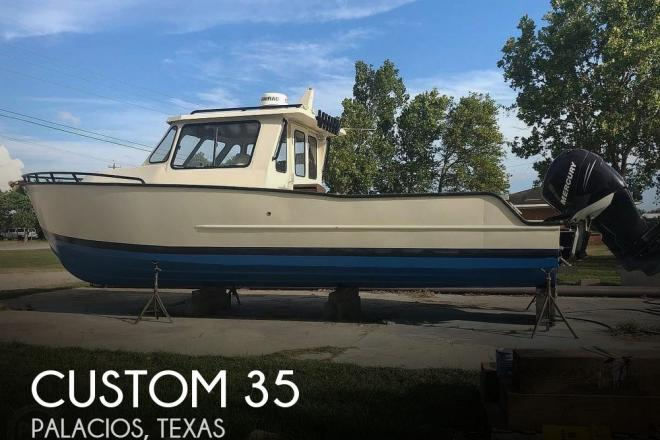 2017 Custom Built 35 Aluminum Hull - For Sale at Palacios, TX 77465 - ID 193307
