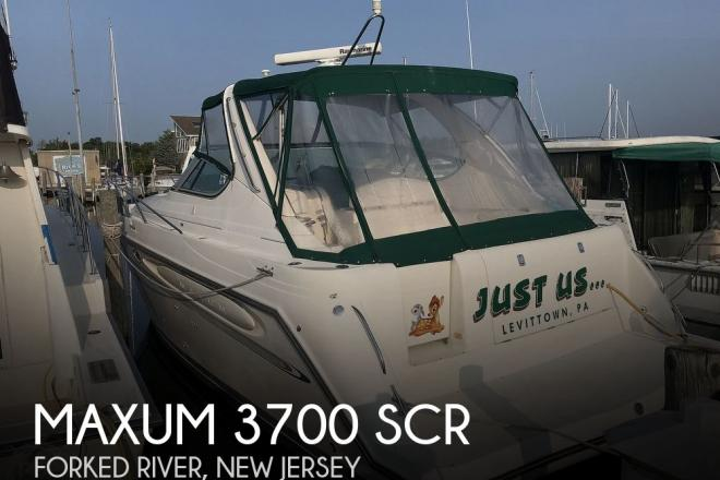 1998 Maxum 3700 SCR - For Sale at Forked River, NJ 8731 - ID 168832