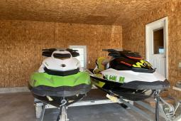2014 Sea Doo Yellow Wake 155 / Green GTI SE 130