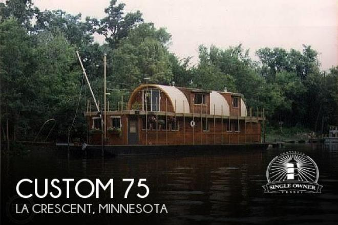 1983 Custom Built 75 House Boat - For Sale at La Crescent, MN 55947 - ID 193434