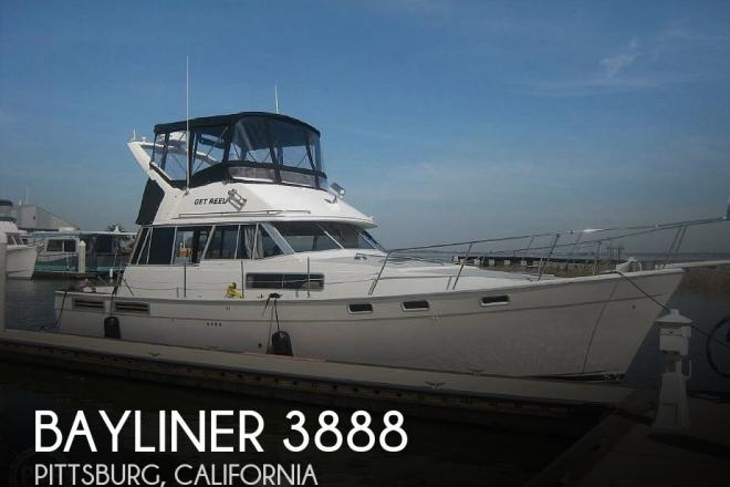 1989 Bayliner 3888 - For Sale at Pittsburg, CA 94565 - ID 192866