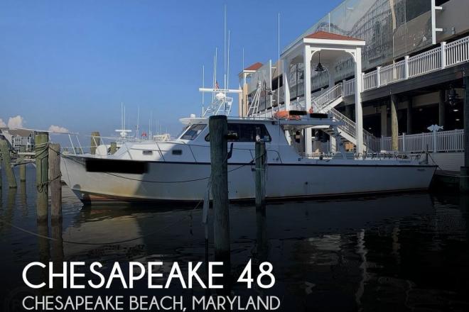 2002 Chesapeake Deadrise 48 - For Sale at Chesapeake Beach, MD 20732 - ID 193700