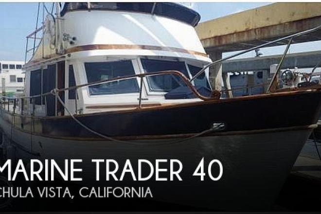 1977 Marine Trader Double Cabin 40 - For Sale at Chula Vista, CA 91910 - ID 193891