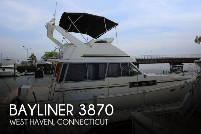 1987 Bayliner 3870 - For Sale at West Haven, CT 6516 - ID 193962