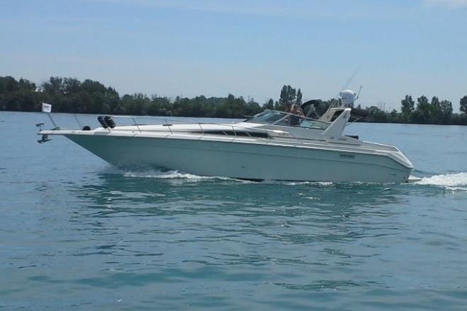 1992 Sea Ray 440 SUNDANCER - For Sale at Harrison Township, MI 48045 - ID 164216
