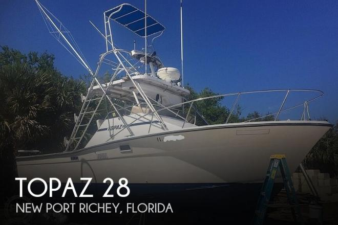 1978 Topaz 28 Sportfish - For Sale at Tarpon Springs, FL 34689 - ID 193799