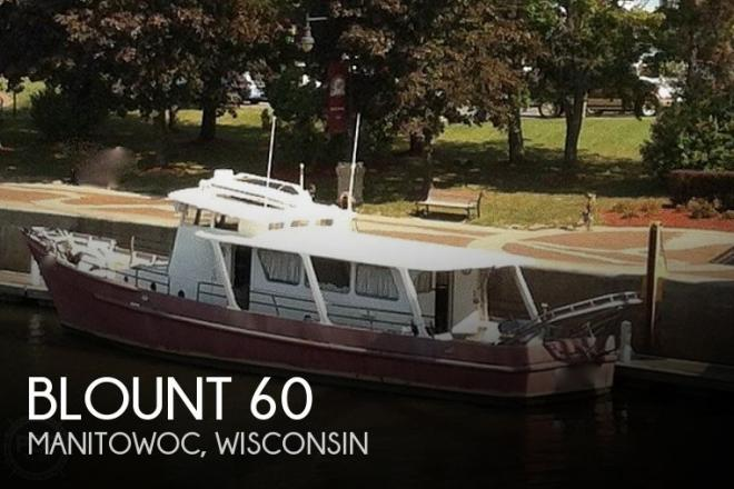 1967 Blount 60 Converted Research Vessel - For Sale at Manitowoc, WI 54220 - ID 192859