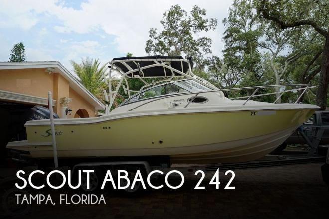 2006 Scout Abaco 242 - For Sale at Tampa, FL 33614 - ID 194045