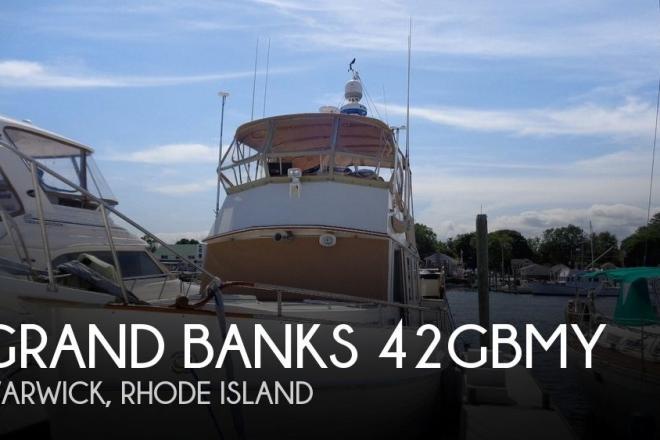 1990 Grand Banks 42 MY - For Sale at Warwick, RI 2889 - ID 194240