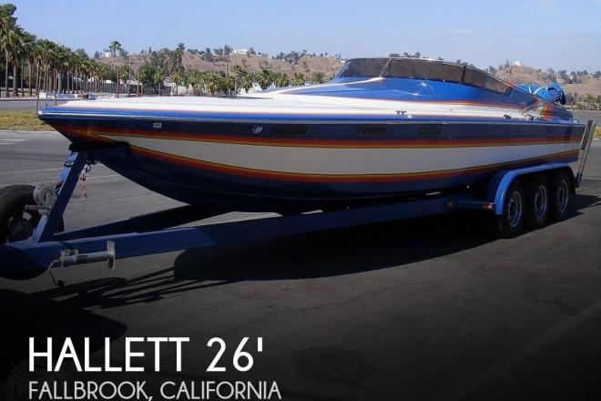1986 Hallett Offshore 7.9 EXP - For Sale at Fallbrook, CA 92028 - ID 192187