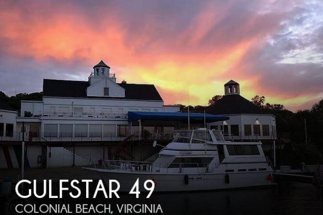 1985 Gulfstar 49 MY - For Sale at Colonial Beach, VA 22443 - ID 194475