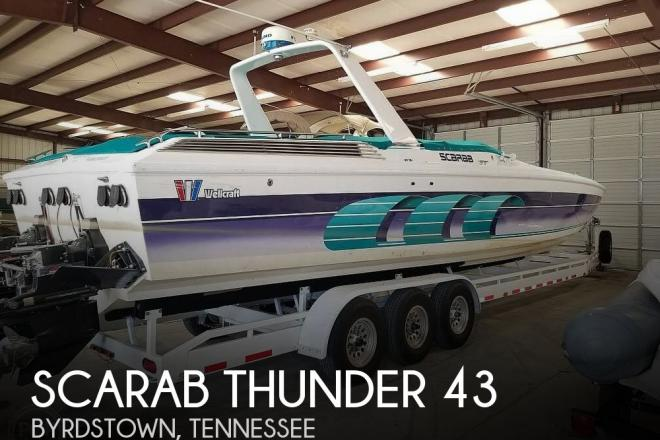 1994 Scarab Thunder 43 - For Sale at Byrdstown, TN 38549 - ID 184688