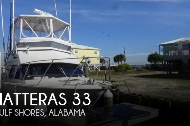 1987 Hatteras 33 - For Sale at Gulf Shores, AL 36542 - ID 153407
