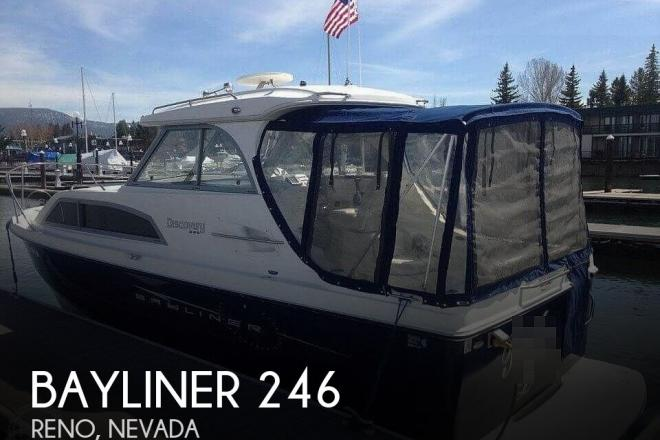 2008 Bayliner 246 Discovery - For Sale at Reno, NV 89501 - ID 194992