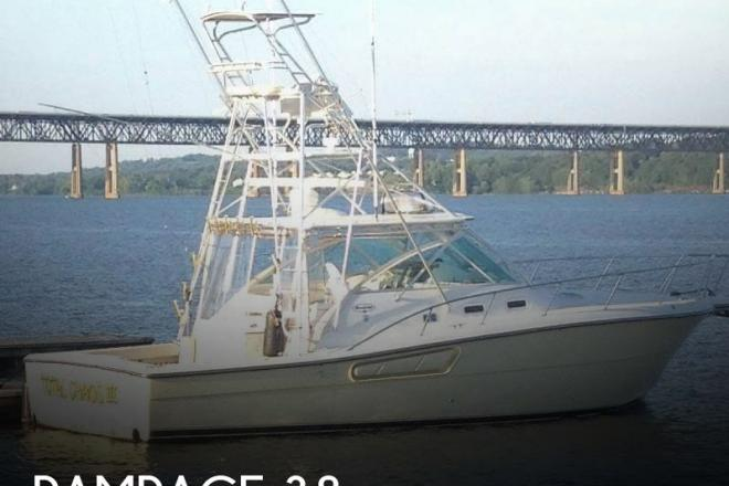 2001 Rampage 38 - For Sale at Cornwall on Hudson, NY 12520 - ID 134187