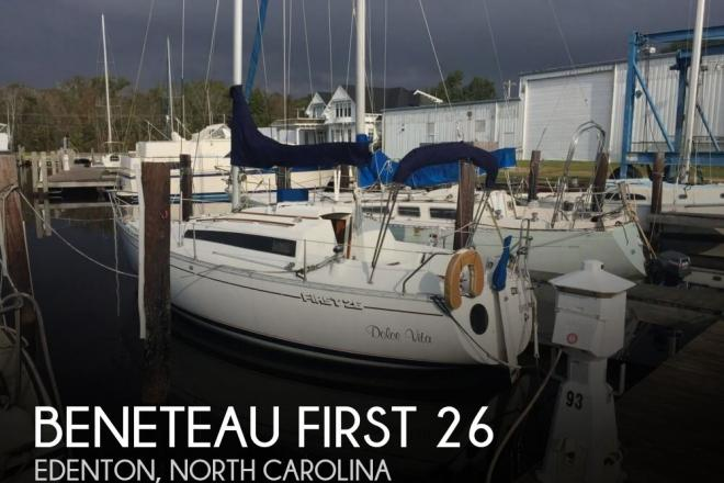 1987 Beneteau First 26 - For Sale at Edenton, NC 27932 - ID 153132