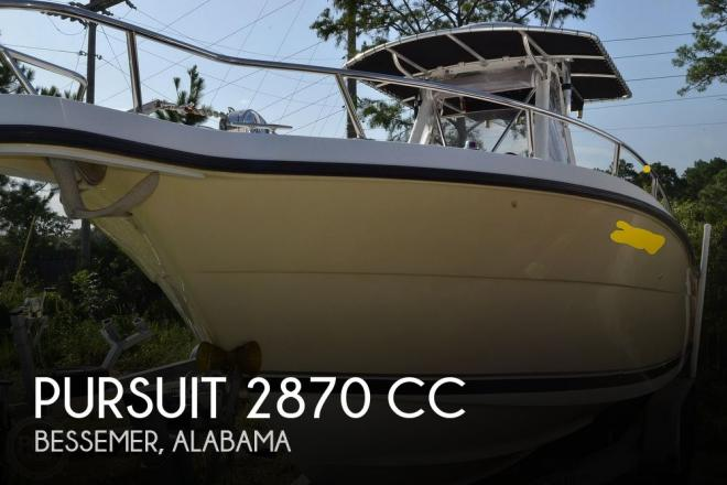 2006 Pursuit 2870 CC - For Sale at Bessemer, AL 35023 - ID 191399