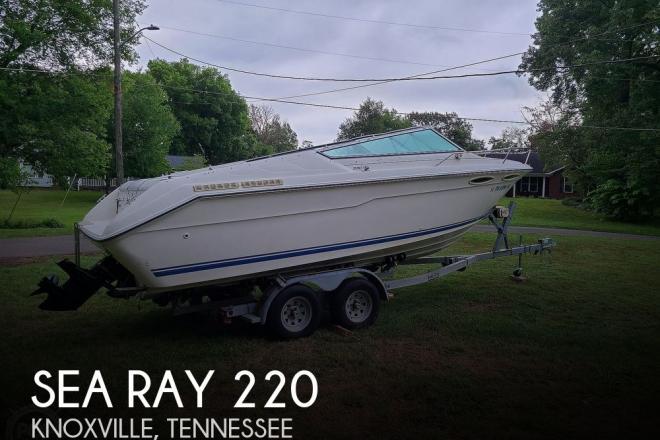 1990 Sea Ray 220 Overnighter