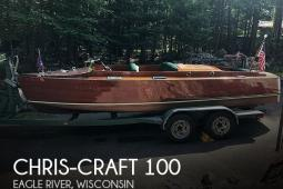 1930 Chris Craft 100
