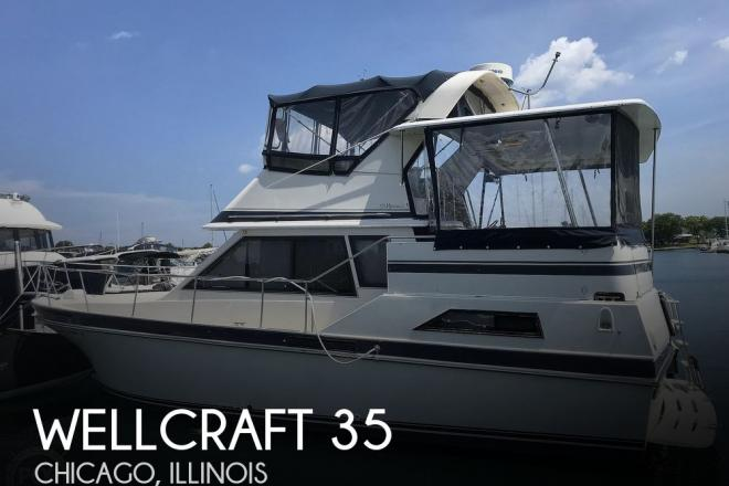 1985 Wellcraft Californian 35 MY - For Sale at Chicago, IL 60608 - ID 195394