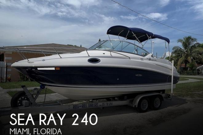 2008 Sea Ray 240 Sundancer - For Sale at Miami, FL 33142 - ID 195396