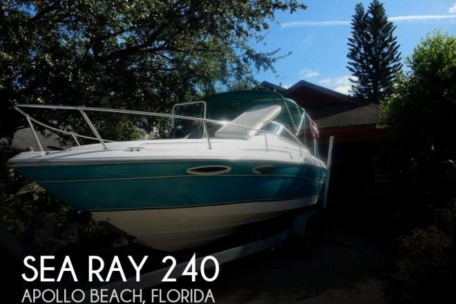 1995 Sea Ray 240 Overnighter - For Sale at Sun City Center, FL 33573 - ID 131510