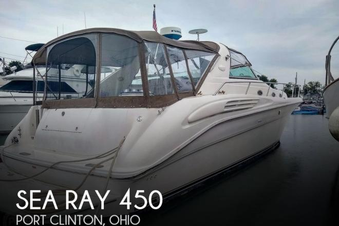1996 Sea Ray 450 Sundancer - For Sale at Port Clinton, OH 43452 - ID 98669
