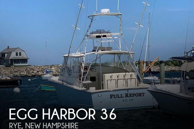 1981 Egg Harbor 36 - For Sale at Rye, NH 3870 - ID 195443