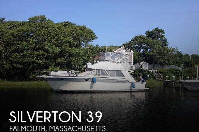 1987 Silverton 39 Convertible - For Sale at Falmouth, MA 2540 - ID 195462