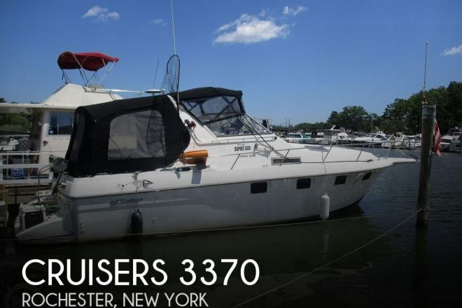 1992 Cruisers 3370 Esprit - For Sale at Rochester, NY 14602 - ID 160000
