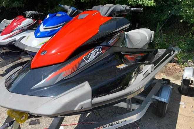 2017 Yamaha VX Deluxe - For Sale at Blairsville, GA 30512 - ID 195438