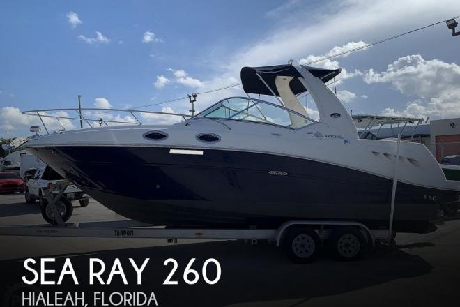 2006 Sea Ray 260 Sundancer - For Sale at Hialeah, FL 33014 - ID 195499