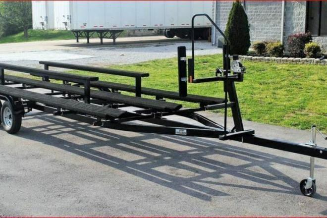 2020 Benchmark 22 FOOT TRITOON TRAILER - For Sale at Blairsville, GA 30512 - ID 180071