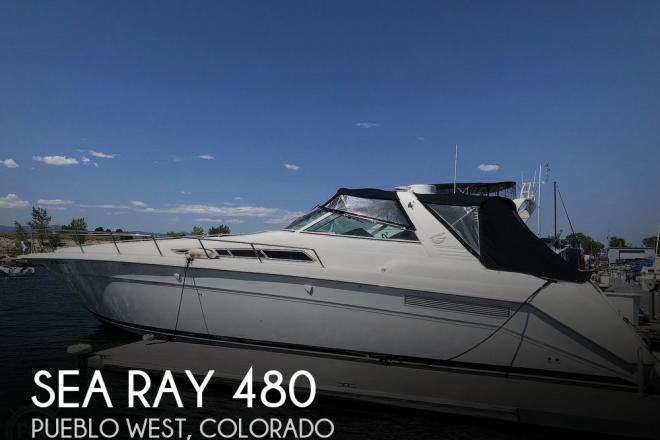 1991 Sea Ray 480 /500 Sundancer - For Sale at Pueblo, CO 81007 - ID 185387