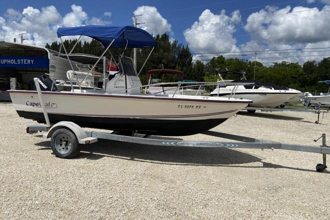 2003 Cape Craft 1700 CC - For Sale at Port Charlotte, FL 33953 - ID 195797