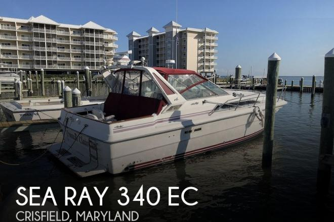 1989 Sea Ray 340 EC - For Sale at Crisfield, MD 21817 - ID 189632