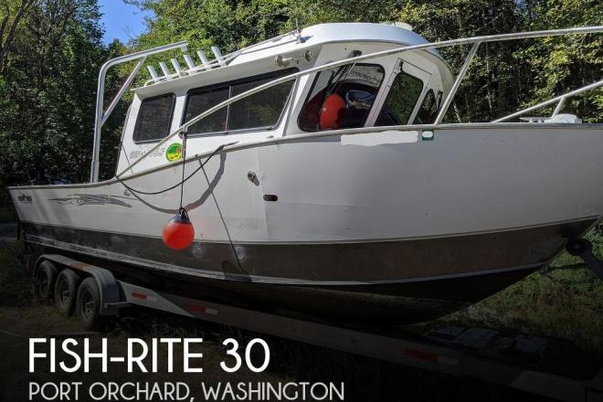 2008 Fish Rite Sea Wolf 30 - For Sale at Port Orchard, WA 98367 - ID 195946