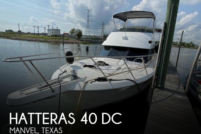 1991 Hatteras 40 DC - For Sale at Manvel, TX 77578 - ID 195322